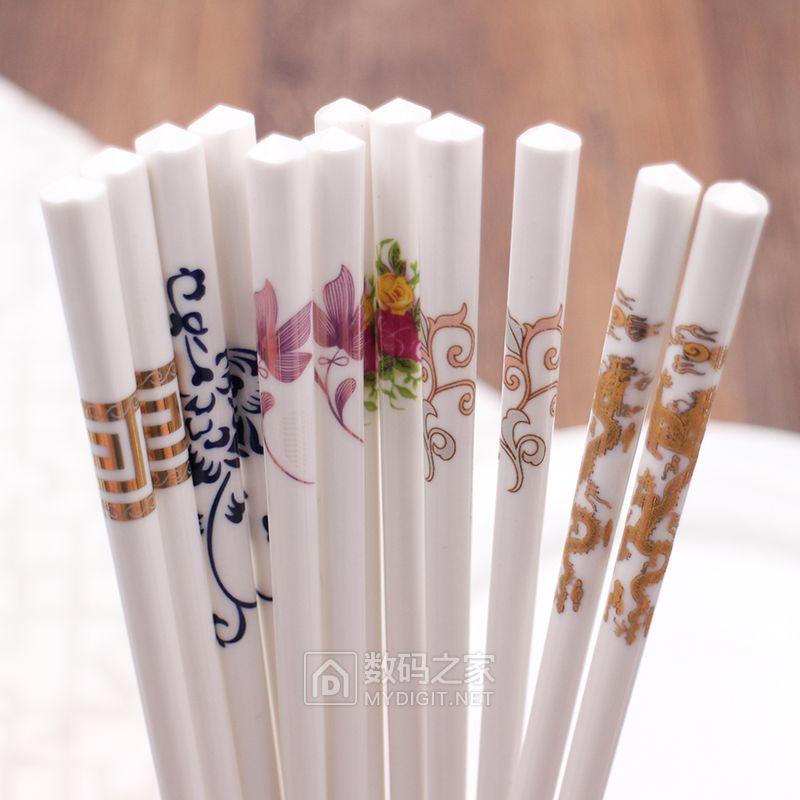 新开拼多多 第三代健康骨瓷筷子