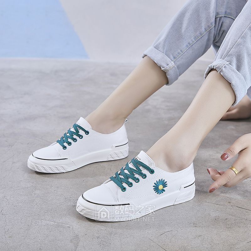 26.8元包邮夏款女式低帮帆步鞋