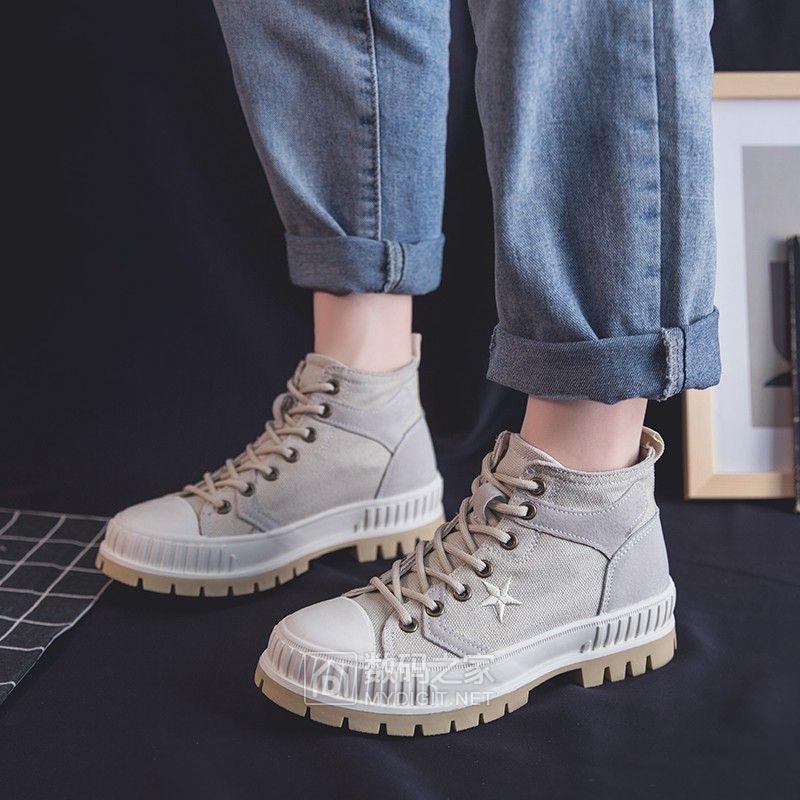 41元工厂价格包邮帆布马丁靴