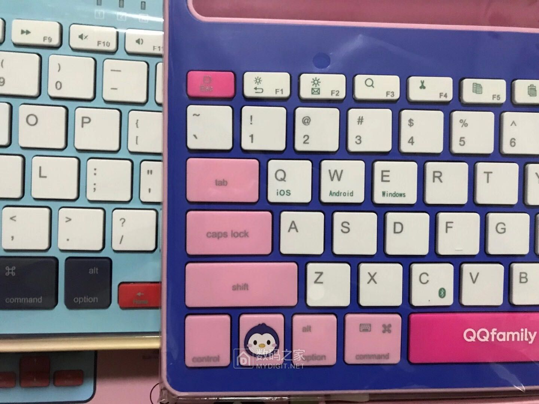 QQ QK300无线多模式蓝牙键盘,大量库存特价处理。100一个包邮