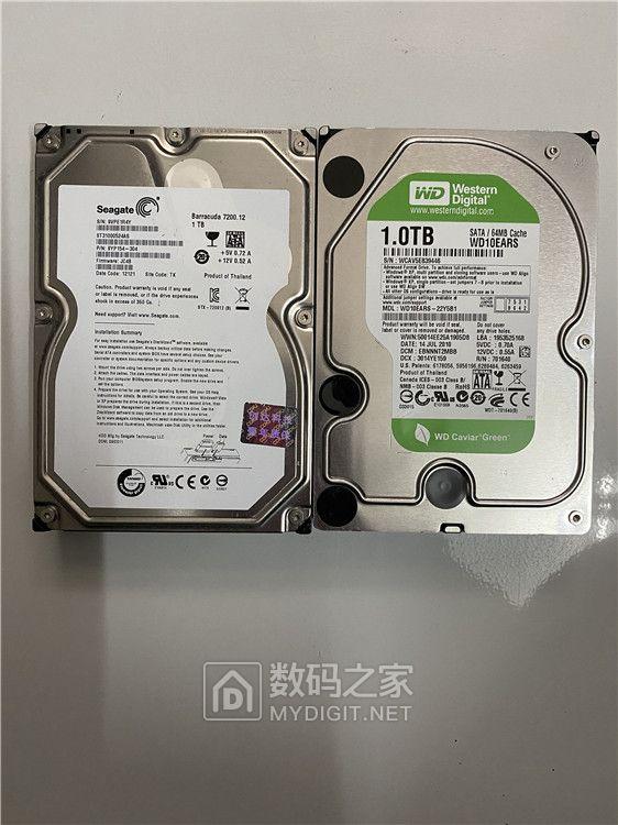 40元包邮台式机希捷 WD原装拆机硬盘