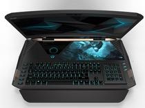 宏碁展示曲面屏笔记本电脑