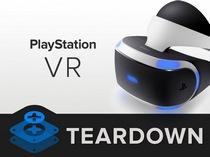 索尼头戴式虚拟现实显示器PS VR拆解