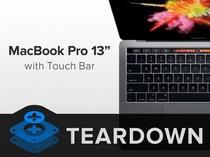 """苹果MacBook Pro 13"""" Touch Bar拆机"""