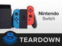 任天堂Switch变形游戏机拆解