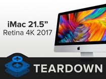 2017款21.5寸iMac 4K拆机