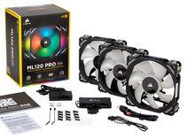 海盗船发布 ML PRO RGB 电脑散热风扇